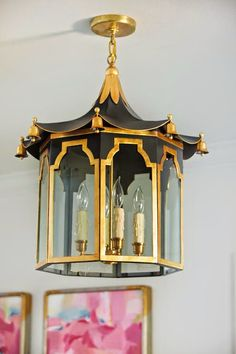 Pagoda Lantern from Coleen and Company