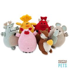 Pet Toys by Martha Steward: Hats off to Martha who does it again. These are so cute for your dog (or dare I suggest your kid?)