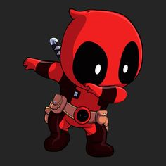 DAB ON EM Who doesn't love a dpabbing Deadpool?!