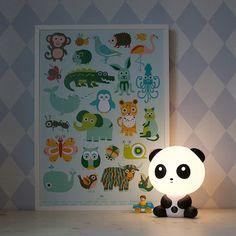 Cute panda nachtlampje | Hikjes in Huis