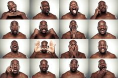 DIFFERENT EMOTIONS BY MIKE LARREMORE - Useful for drawing facial expressions - click through for more