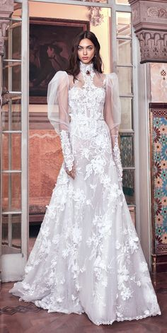 Galia Lahav 2018 Wedding Dresses And#8211; Victorian Affinity Collection ❤ See more: http://www.weddingforward.com/galia-lahav-2018-wedding-dresses/ #weddings