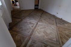 parquet under construction