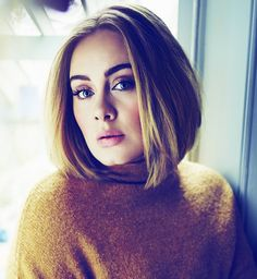 Singer Adele is in a good place after going through a difficult split from her husband Simon Konecki, says songwriter Ryan Tedder. The Grammy winner and Konecki, announced on April 19 that they had separated. Adele Short Hair, Hair Inspo, Hair Inspiration, Adele Photos, Adele Style, Adele Adkins, 5 Mai, Dream Hair, Purple Hair