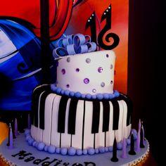 Musical birthday cake!