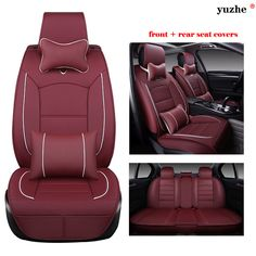 Quilted Heavy Duty Rear Back Car Seat Covers for Seat Mii 5DR 2012 On