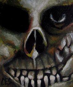 Art: The Dentist by Artist Christine E. S. Code ~CES~