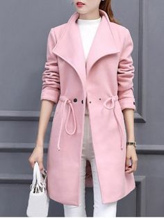 GET $50 NOW | Join RoseGal: Get YOUR $50 NOW!http://www.rosegal.com/coats/drawstring-woollen-blend-coat-with-932739.html?seid=7849858rg932739