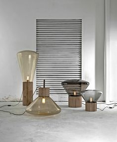 """Muffin"" lights by designer Dan Yeffet."