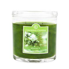 Colonial Candle Emerald Fir Jar Candle   Wayfair