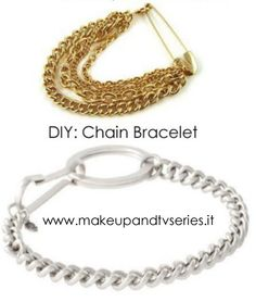 DIY: Do It Yourself // Chain Bracelet