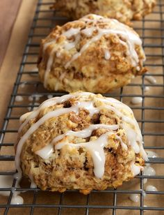 Simple to make and a pleasure to eat, Cinnamon Bun Scones are a fabulous sweet, cinnamon-y treat. - Bake or Break
