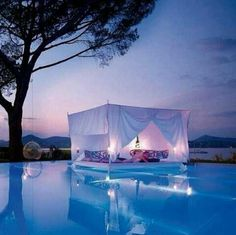 Una piscina así...