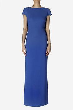 Long Dresses & Jumpsuits - Royal Diamond Cut Out Maxi Dress