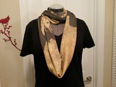 Game of Thrones inspired Infinity KNIT scarf - made to order on Etsy, $40.00