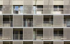 atelier du pont revitalize social housing block with new facade - designboom   architecture