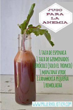 Buenos días hoy le presentamos este Jugo verde para la anemia! La anemia es la falta de glóbulos rojos en la sangre se trata con una buena dosis de hierro!  Los ingredientes de este jugo tiene alto contenido de hierro, que lo convierte en un buen apoyo para la sangre! #batidos #dieta #anemia #salud #detox #vegetales #receta #delicioso