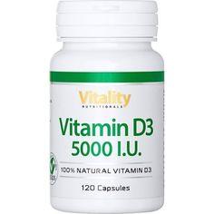 Vitamin D3 Vegan 5.000 IE, 90 Kapseln