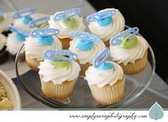 Baby Shower Party Ideas - Cupcakes