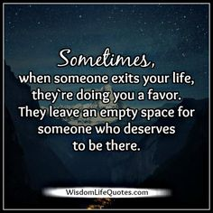 Not everyone who comes in your life stays with you forever. People are going to leave you in your #life to make a better person...
