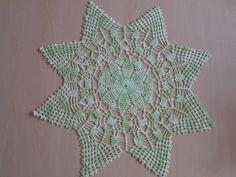 Handmade doilies (23 inch) (58cm) by Ela Mazek