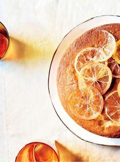 Lemon-Yogurt Tea Cake