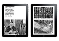 BreWorld - Ipad Magazine on Behance