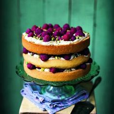 Raspberry, Pistachio and Rose cake - Independent.ie