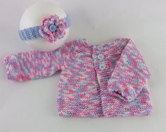 Baby Sweater  Handmade  Knitted Baby by PreciousNewbornKnits