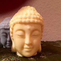 Blissful Buddha heads by Soaptreesoaps on Etsy