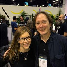 In case you missed it, Lisa reconnected with Roger O'Donnell of The Cure at Moog Music Inc. at The NAMM Show after 27 years! What would you say to them if you had the chance?