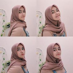 Gadis Berhijab Cantik Mencari Jodoh Casual Hijab Outfit, Ootd Hijab, Girl Hijab, Hijab Chic, Selfie Poses, Selfie Ideas, Beautiful Hijab Girl, Hijab Cartoon, Modern Hijab Fashion