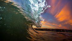 San Francisco Sunrise Shorebreak Photo: www.nathanfrenchphotography.com