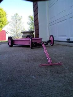 Custom radio flyer wagon pics and ideas? - Page 15 - THE H. Custom Radio Flyer Wagon, Radio Flyer Wagons, Lawn Mower Wheels, Kids Wagon, Go Kart Plans, Wagon Wheels, Man Cave Garage, Pedal Cars, Coraline