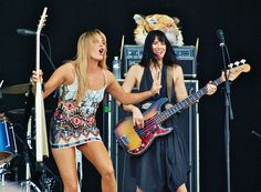 Grace Potter and Catherine Popper- The Nocturnals Grace Potter, Female, Music, Pretty, Bass, Beauty, Collection, Color, Dresses