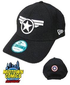 We've got a Midtown Comics exclusive Captain America cap from New Era.