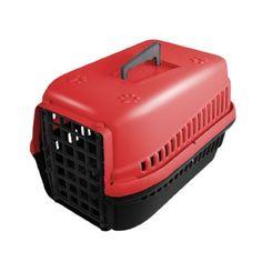 Caixa de Transporte MEC Nº 1 - Vermelha | Patinhas Felizes Pet Shop Online