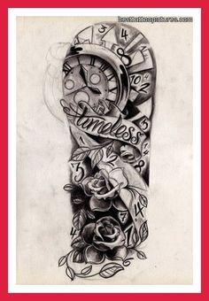 mens half sleeve tattoo - Google Search