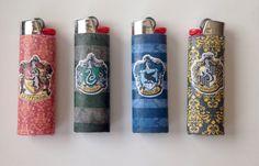 $5.00 on Etsy Harry Potter Lighter / Gryffindor / Hufflepuff / Ravenclaw / Slytherin / Hogwarts by TheQuirkyRoom on Etsy https://www.etsy.com/listing/223763330/harry-potter-lighter-gryffindor