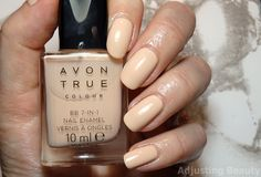 Review of Avon BB 7-in-1 Nail Enamel in Caring Creme