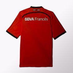 a495fbbd0a893 adidas Camiseta de Fútbol Suplente River Plate 2015 - Rojo