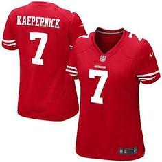 Women s San Francisco Colin Kaepernick Nike Scarlet Game Jersey. Rema  Ajameya · NFL 1311dc089