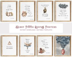 Harry Potter Quotes Poster – Magic Paperie Harry Potter Invitations, Harry Potter Sign, Harry Potter Wall Art, Harry Potter Sorting Hat, Harry Potter Classroom, Harry Potter Printables, Harry Potter Wedding, Harry Potter Gifts, Harry Potter Quotes