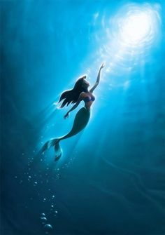 Before a young lion became a king, before a beauty tamed a beast, before Aladdin unleashed a genie, there was a little mermaid who dreamed of something more...
