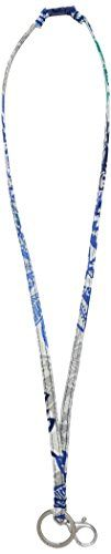 Vera Bradley Breakaway Lanyard, Santiago: Keep your id close and hands-free. The bonus is that this is way cuter than the free one that came with your work badge. Lanyard Id Holder, Work Badge, Wristlets, Vera Bradley, Personalized Items, Link, Womens Fashion, Hands, Amazon