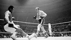 """Charles """"Chuck"""" Wepner (born February 26, 1939) is a former heavyweight boxer from Bayonne, New Jersey.[1][2] As a tough journeyman boxer he went 15 rounds with world heavyweight champion Muhammad Ali in a 1975 fight. Wepner claimed that he was the inspiration for the movie Rocky, and his claim was confirmed by the film's screenwriter, Sylvester Stallone, on an episode of Inside the Actor's Studio."""