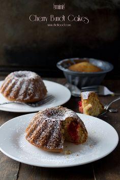 Mini Cherry Bundt Cake | www.diethood.com