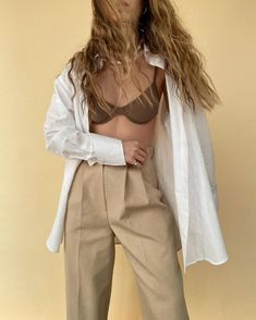 The most perfect linen shirt and my new found love for wired bikini tops 🤎🤍🤎🤍🤎🤍🤎🤍🤎🤍 Underwire Bikini Top, Bikini Swimwear, Bikini Tops, Swimsuits, Wired Bikini, Vintage Bra, Summer Bikinis, Summer Wardrobe, Who What Wear