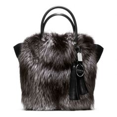 Coach- Legacy Fur Tanner Tote.   Oh my.