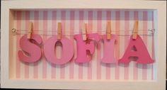 Cartel Bienvenida Con El Nombre, Baby Shower,deco Infantil - $ 280 ...